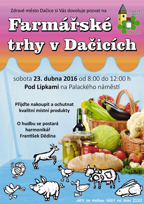 plakát Dačice 2016