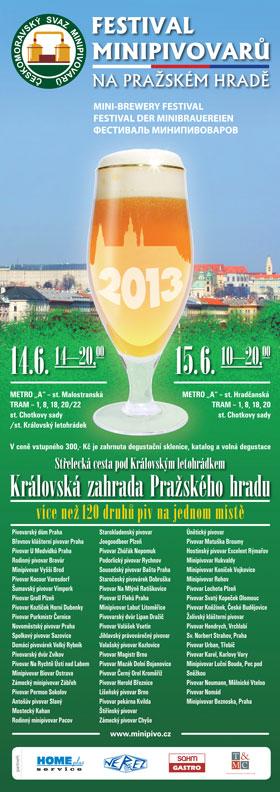 Plakát Festival Pražšký Hrad