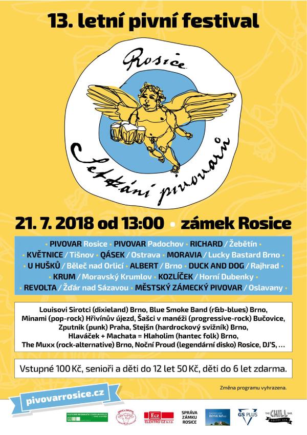 Plakát Rosice 2018
